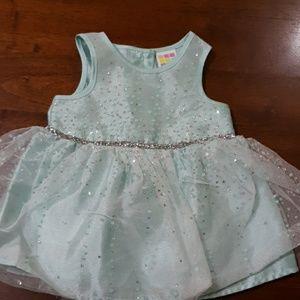 NWOT Healthtex Baby mint green dress NB